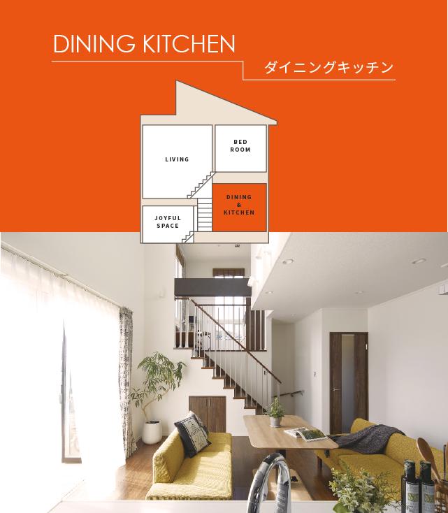 DINING KITCHEN ダイニングキッチン